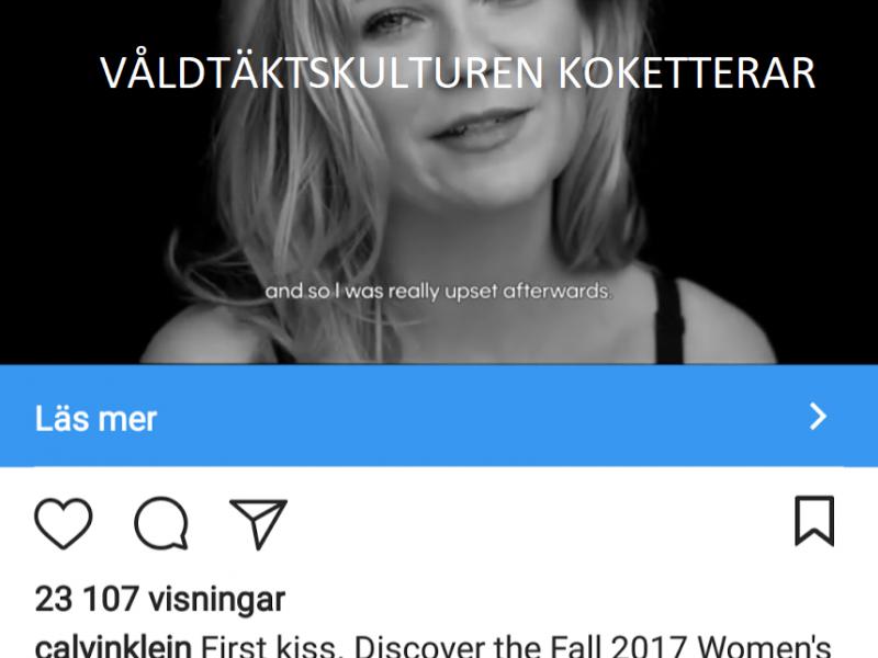 Får jag presentera: våldtäktskultur in action by Calvin Klein