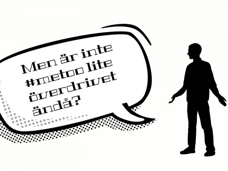 Det är klart att män inte tar åt sig av #metoo
